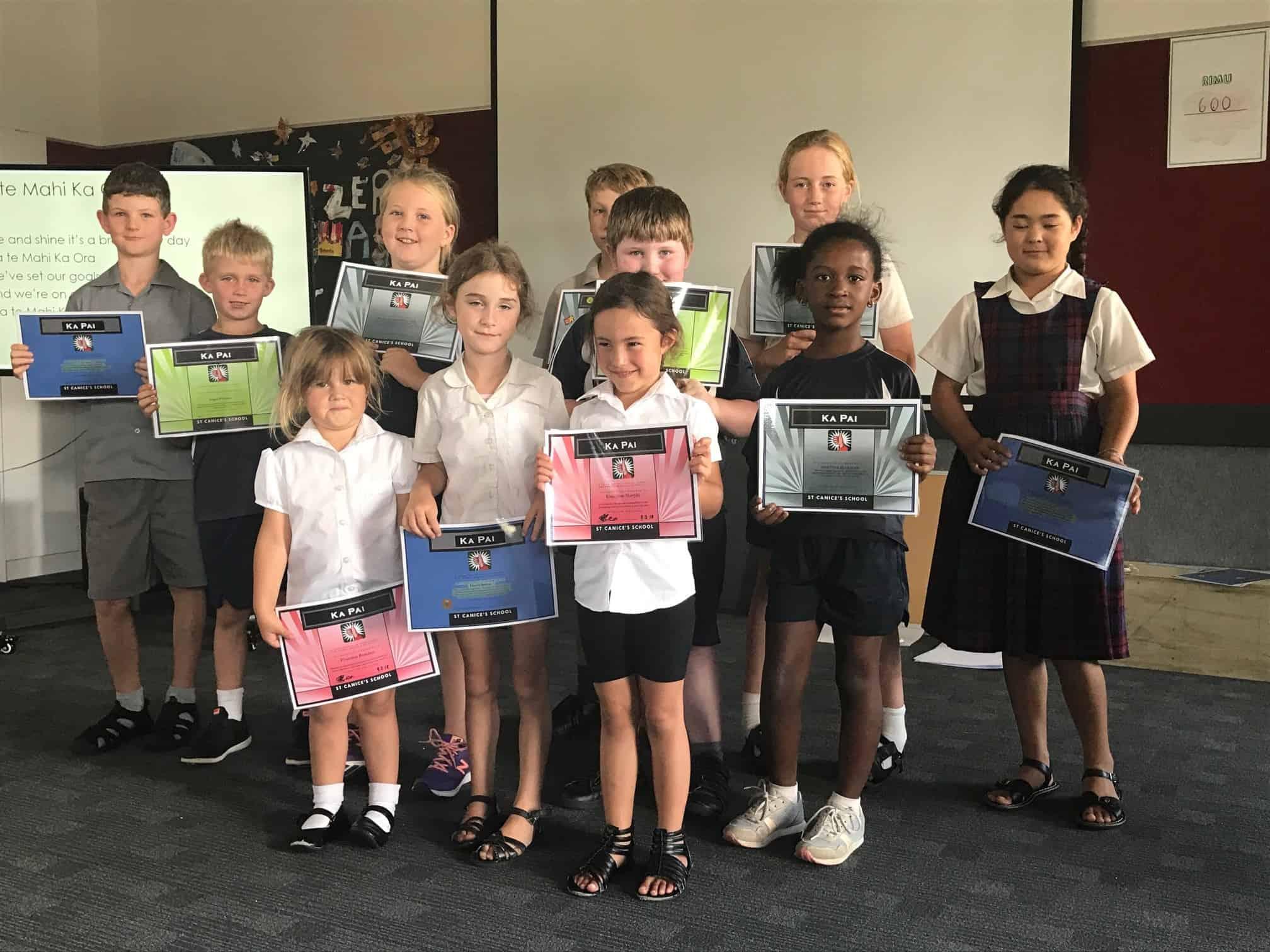 Ka Pai Award Recipients